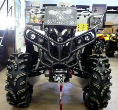 Rubberdown Customs Cmc Cooks Mills Customs Atv Racing