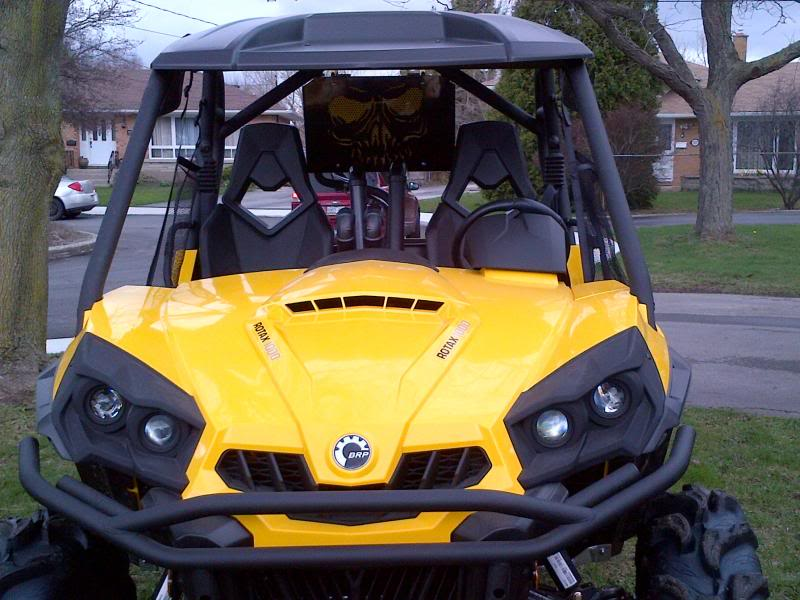 Rad Relocate on 2018 Yamaha Grizzly 400