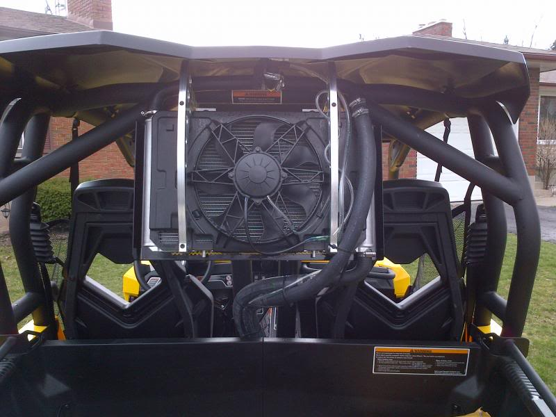 First Ride In New Commander And Having Fan Problems Can